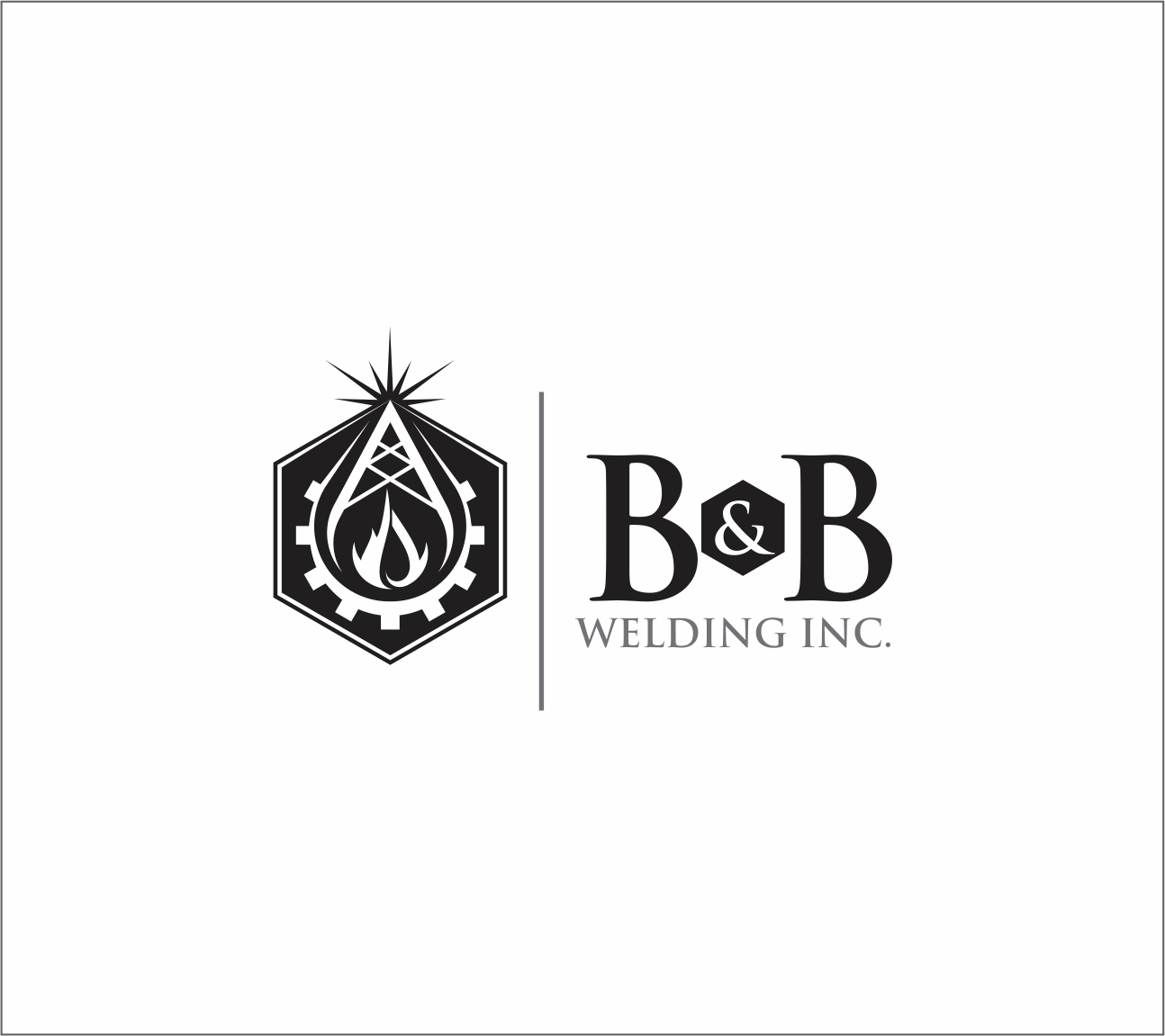 Logo Design by Armada Jamaluddin - Entry No. 16 in the Logo Design Contest Fun Logo Design for B&B Welding Inc..
