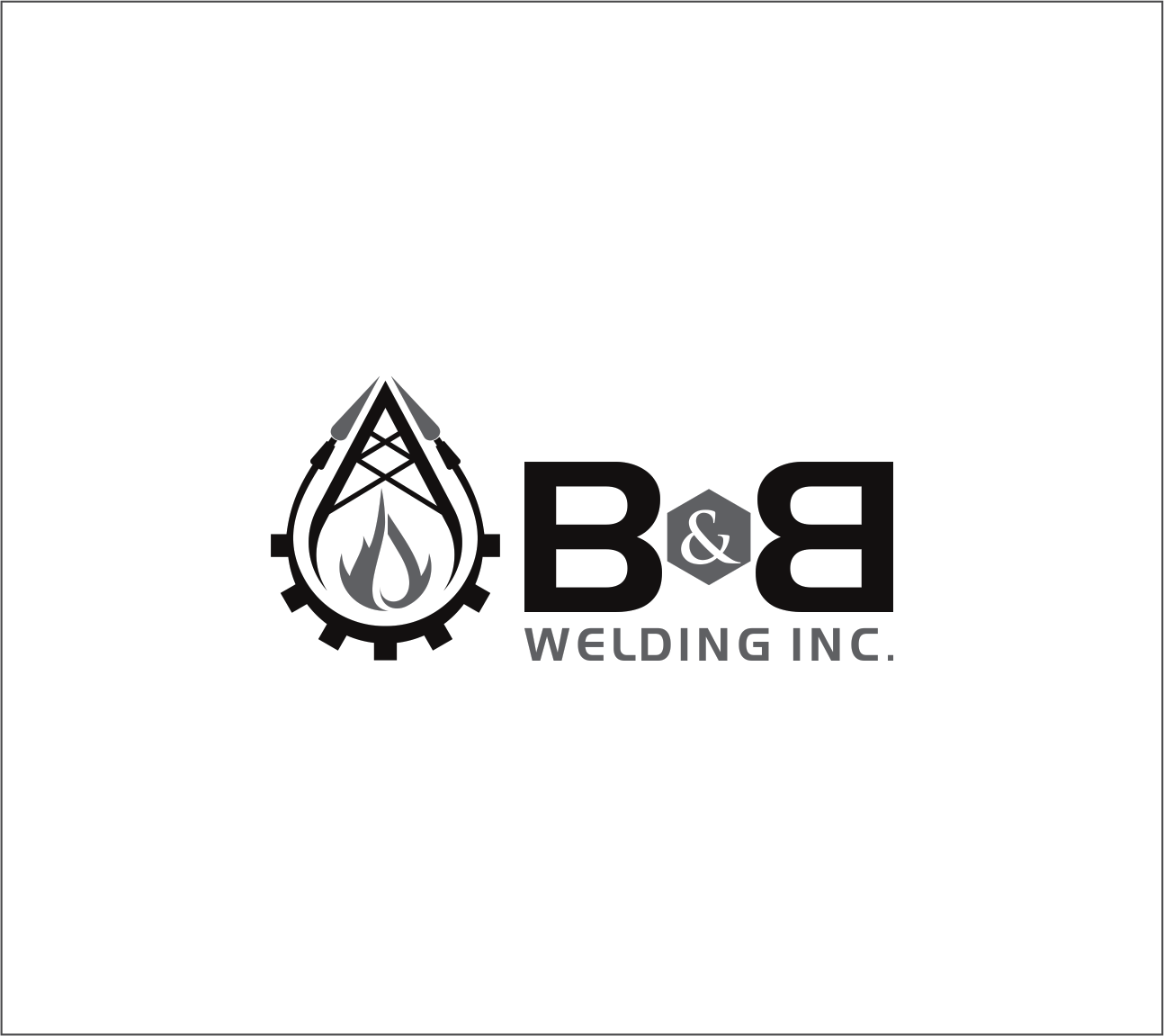Logo Design by Armada Jamaluddin - Entry No. 17 in the Logo Design Contest Fun Logo Design for B&B Welding Inc..