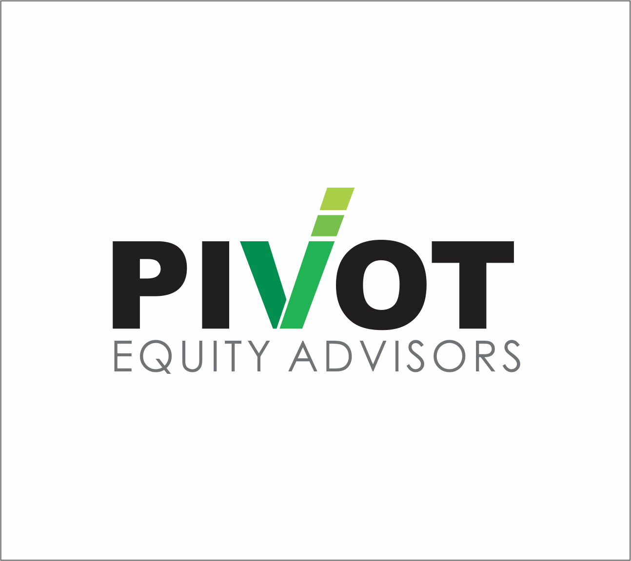 Logo Design by Armada Jamaluddin - Entry No. 26 in the Logo Design Contest Unique Logo Design Wanted for Pivot Equity Advisors.