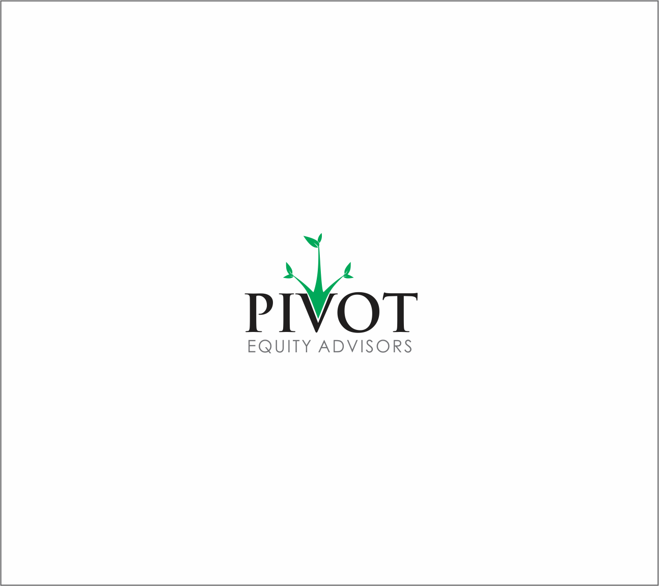 Logo Design by Armada Jamaluddin - Entry No. 27 in the Logo Design Contest Unique Logo Design Wanted for Pivot Equity Advisors.