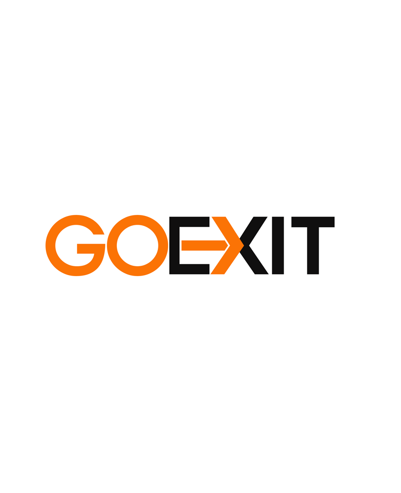 Logo Design by Private User - Entry No. 86 in the Logo Design Contest GoExit Logo Design.