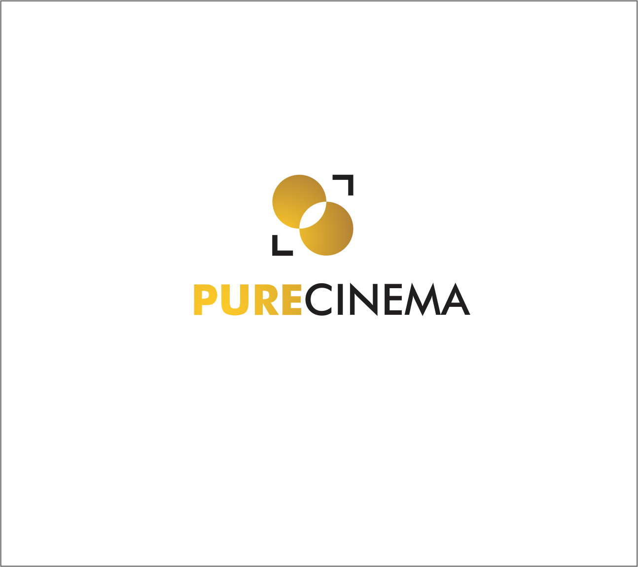 Logo Design by Armada Jamaluddin - Entry No. 58 in the Logo Design Contest Imaginative Logo Design for Pure Cinema.