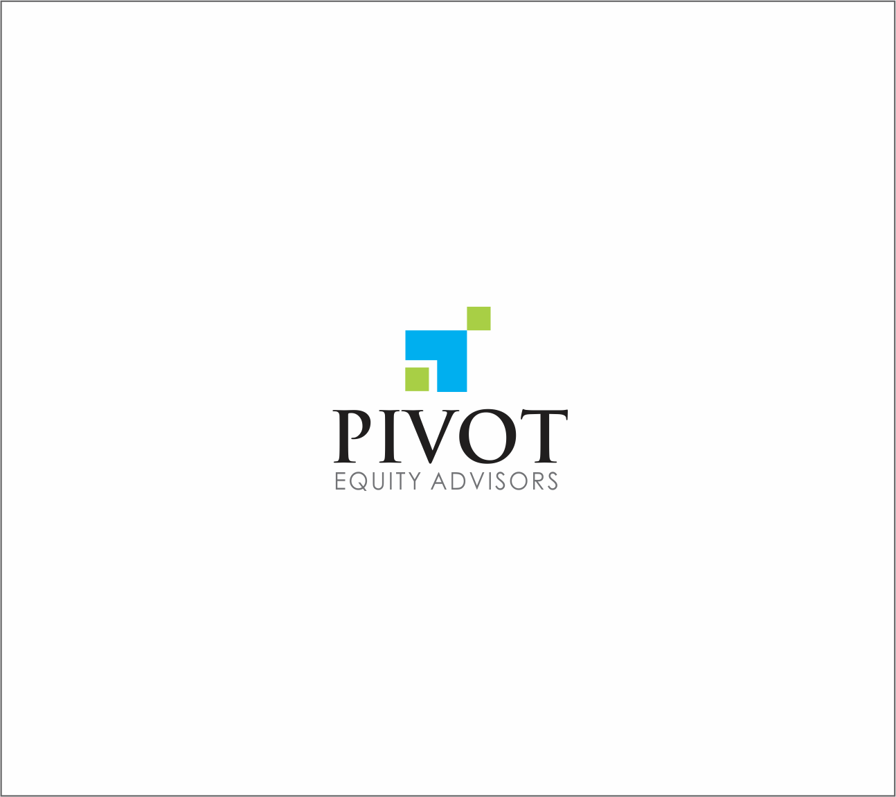 Logo Design by Armada Jamaluddin - Entry No. 28 in the Logo Design Contest Unique Logo Design Wanted for Pivot Equity Advisors.