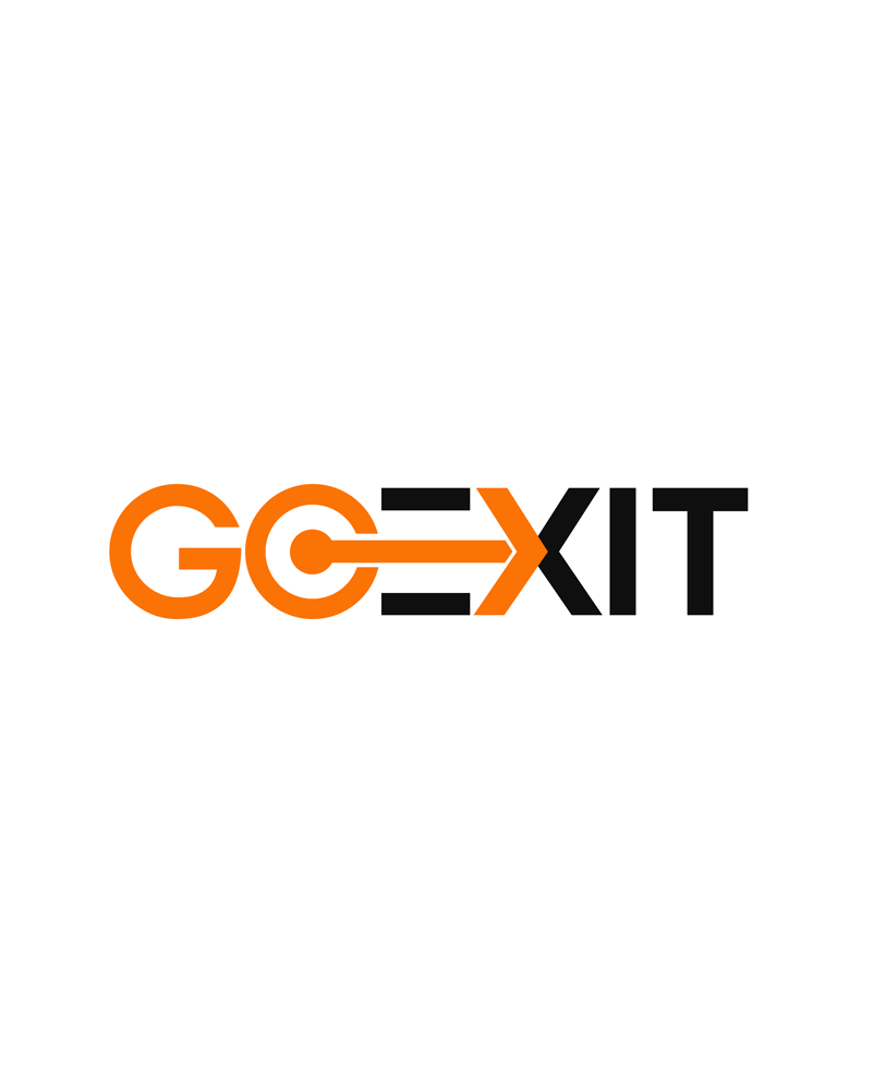 Logo Design by Private User - Entry No. 87 in the Logo Design Contest GoExit Logo Design.