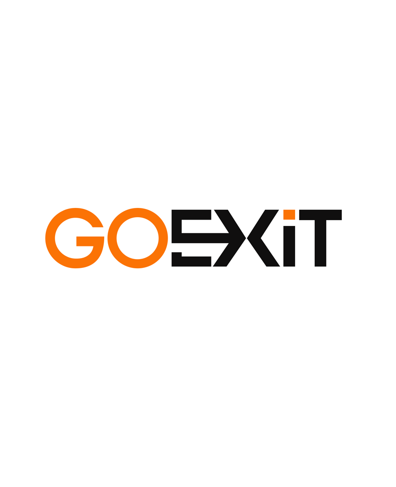 Logo Design by Private User - Entry No. 88 in the Logo Design Contest GoExit Logo Design.