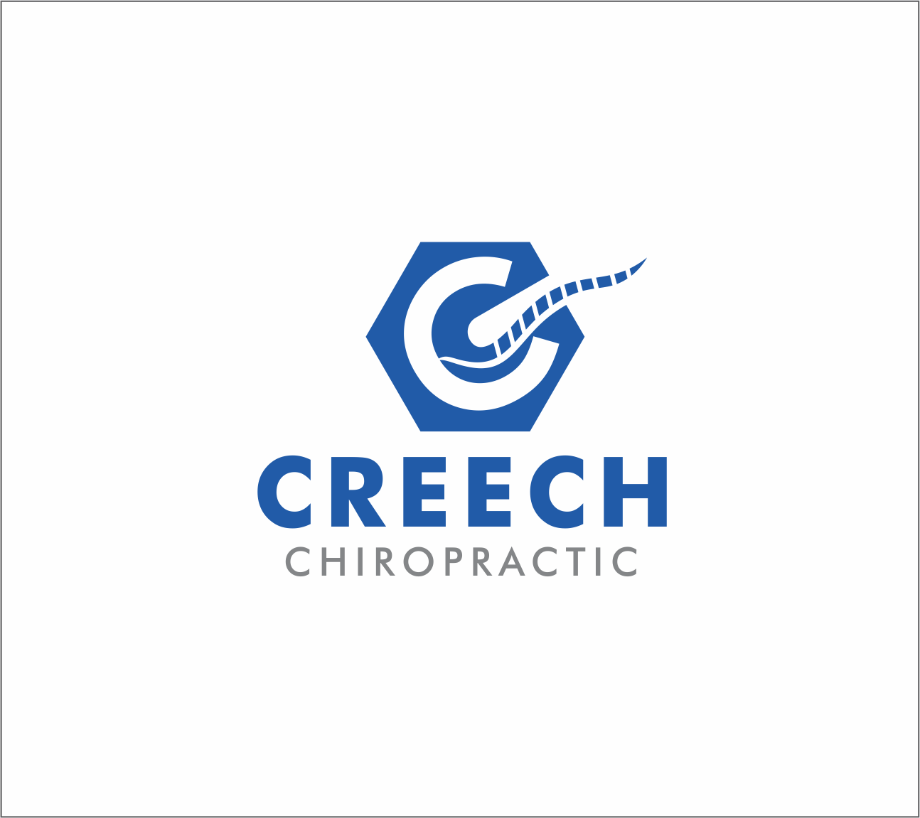 Logo Design by Armada Jamaluddin - Entry No. 53 in the Logo Design Contest Imaginative Logo Design for Creech Chiropractic.