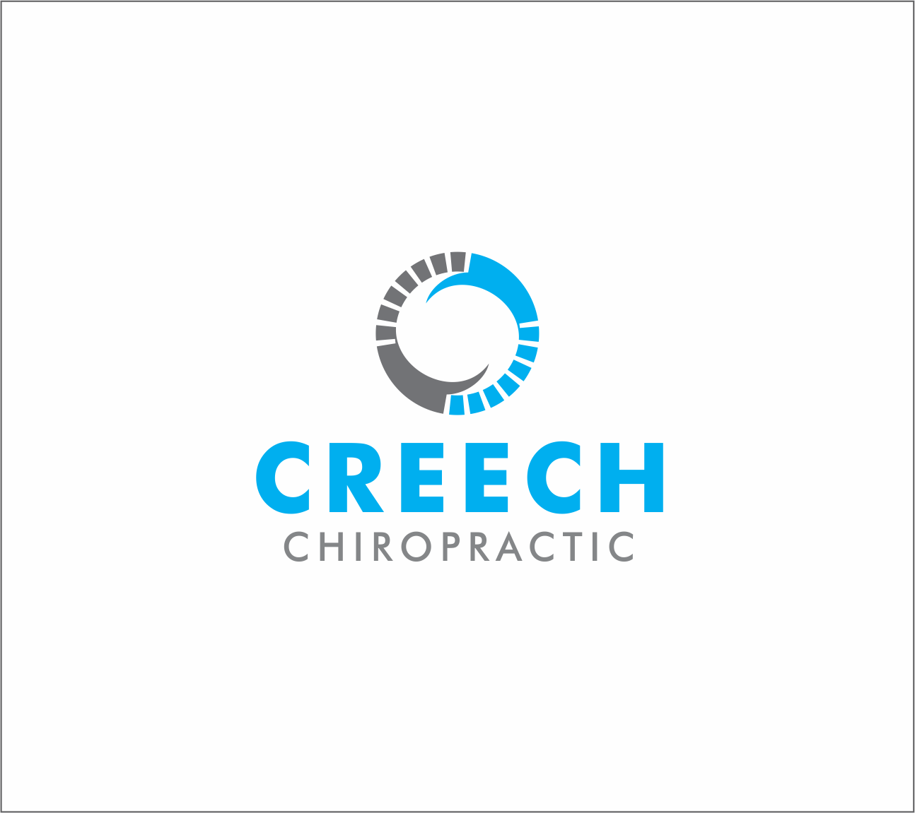 Logo Design by Armada Jamaluddin - Entry No. 54 in the Logo Design Contest Imaginative Logo Design for Creech Chiropractic.