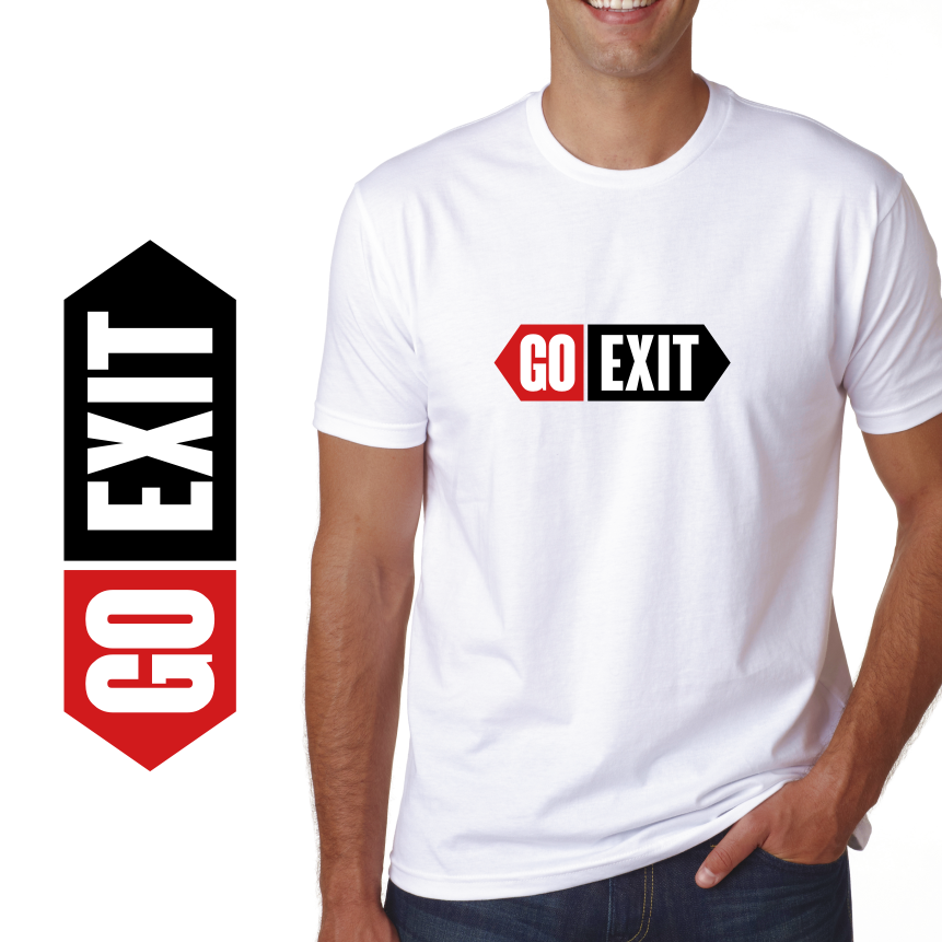 Logo Design by Private User - Entry No. 94 in the Logo Design Contest GoExit Logo Design.