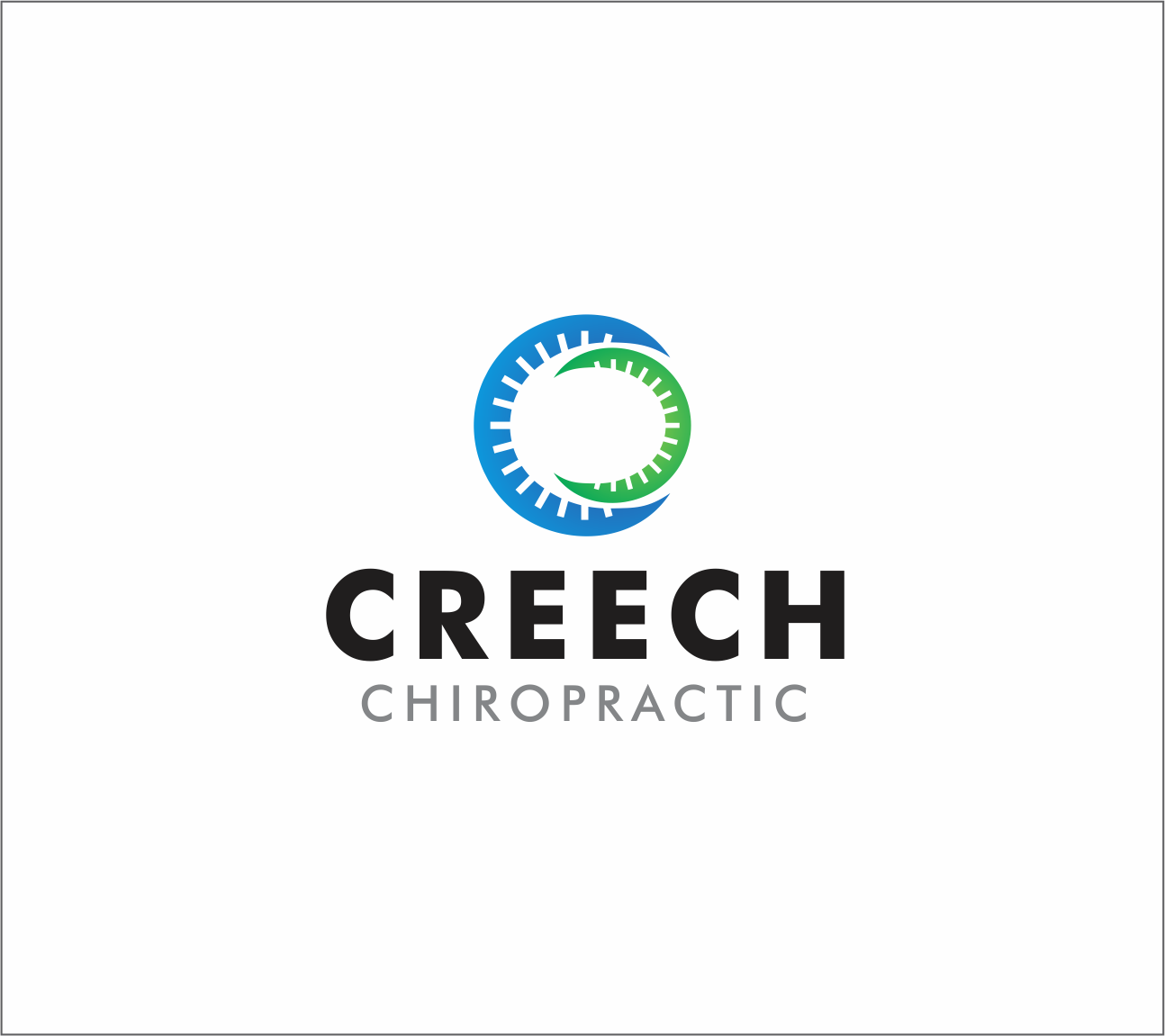 Logo Design by Armada Jamaluddin - Entry No. 55 in the Logo Design Contest Imaginative Logo Design for Creech Chiropractic.
