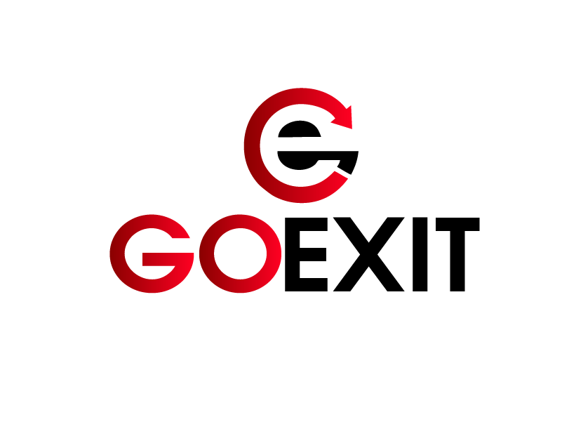 Logo Design by Private User - Entry No. 98 in the Logo Design Contest GoExit Logo Design.