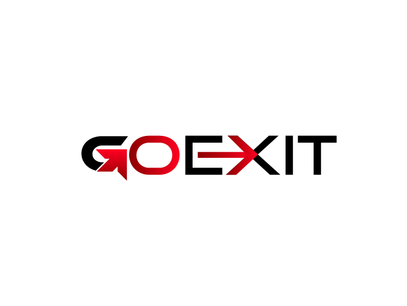 Logo Design by Private User - Entry No. 99 in the Logo Design Contest GoExit Logo Design.