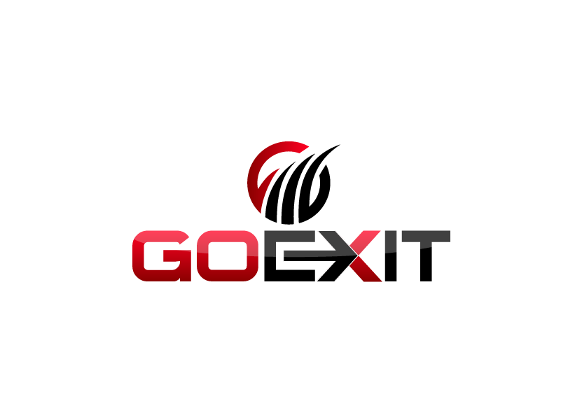 Logo Design by Private User - Entry No. 100 in the Logo Design Contest GoExit Logo Design.