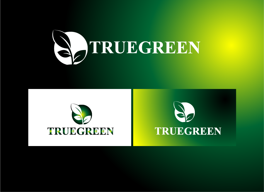 Logo Design by Private User - Entry No. 25 in the Logo Design Contest Fun Logo Design for TRUE GREEN.
