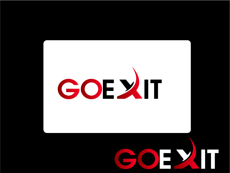 Logo Design by Private User - Entry No. 104 in the Logo Design Contest GoExit Logo Design.