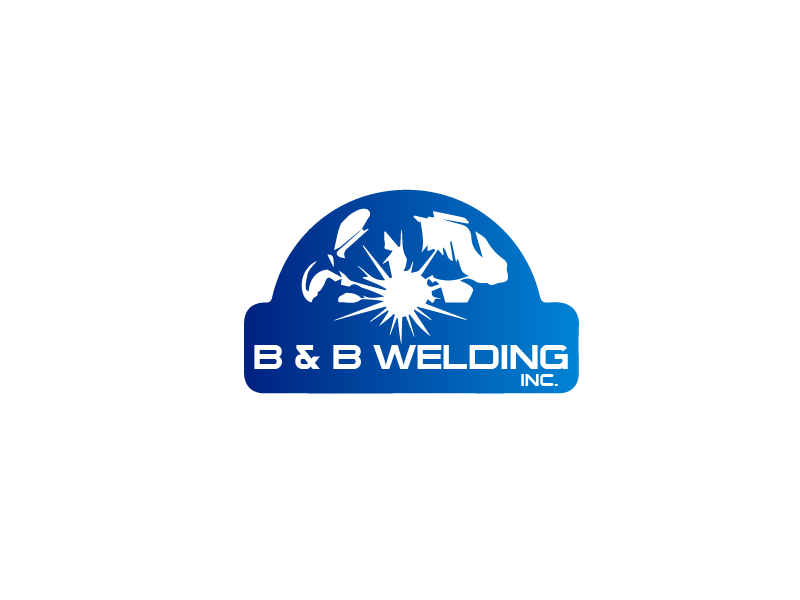 Logo Design by Private User - Entry No. 22 in the Logo Design Contest Fun Logo Design for B&B Welding Inc..