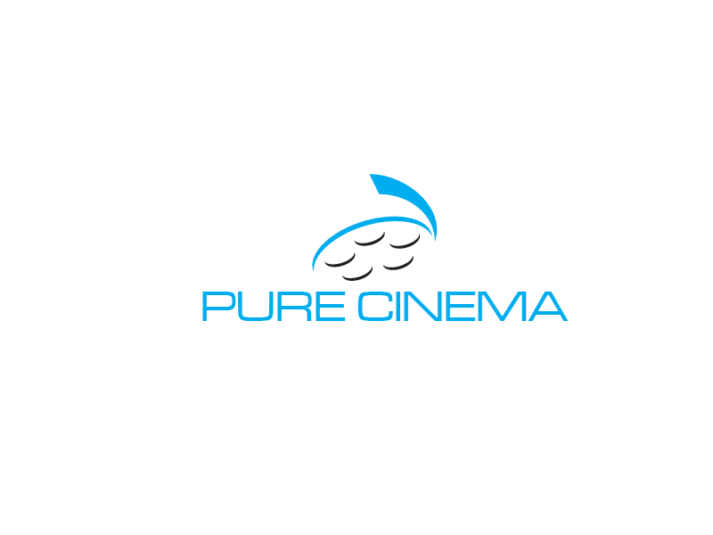 Logo Design by Private User - Entry No. 62 in the Logo Design Contest Imaginative Logo Design for Pure Cinema.
