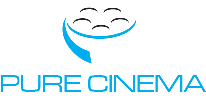 Logo Design by Private User - Entry No. 63 in the Logo Design Contest Imaginative Logo Design for Pure Cinema.