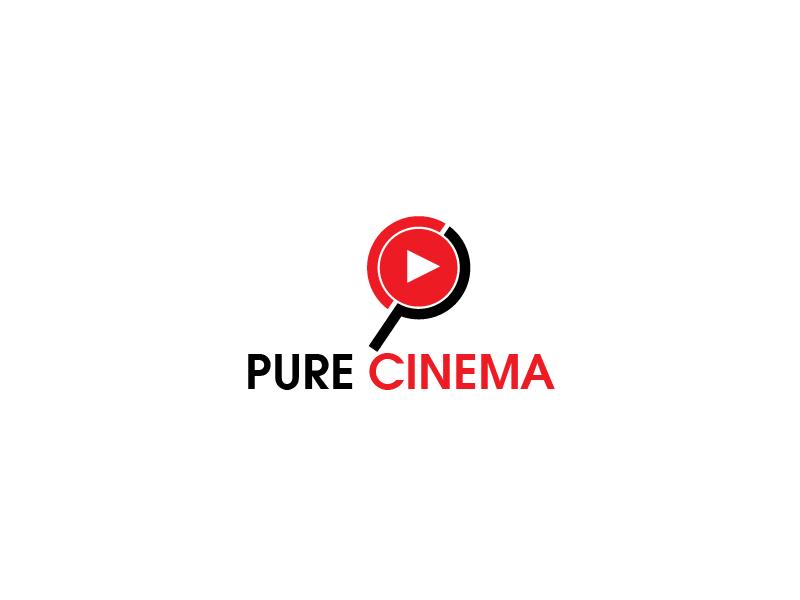 Logo Design by Private User - Entry No. 65 in the Logo Design Contest Imaginative Logo Design for Pure Cinema.