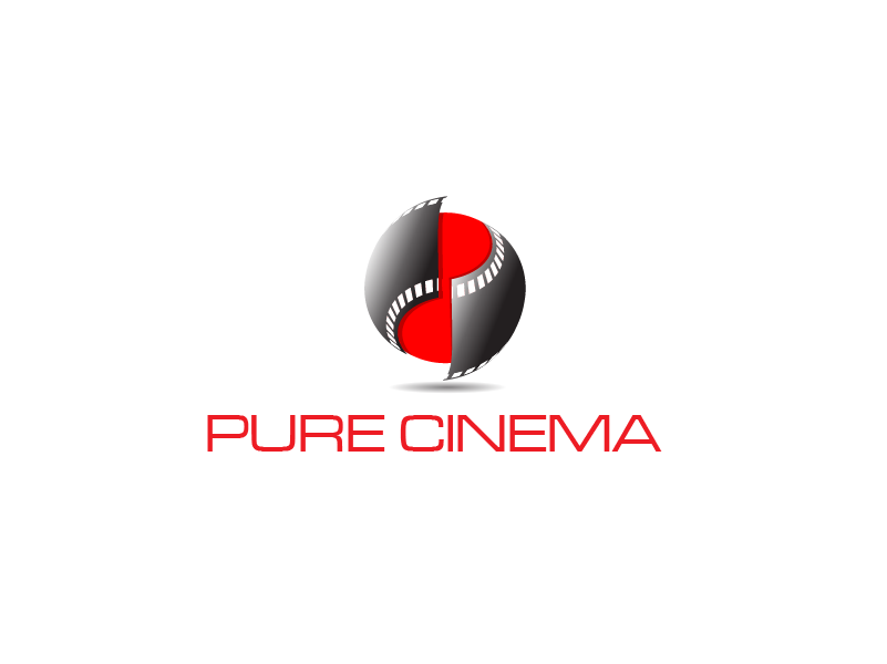 Logo Design by Private User - Entry No. 66 in the Logo Design Contest Imaginative Logo Design for Pure Cinema.