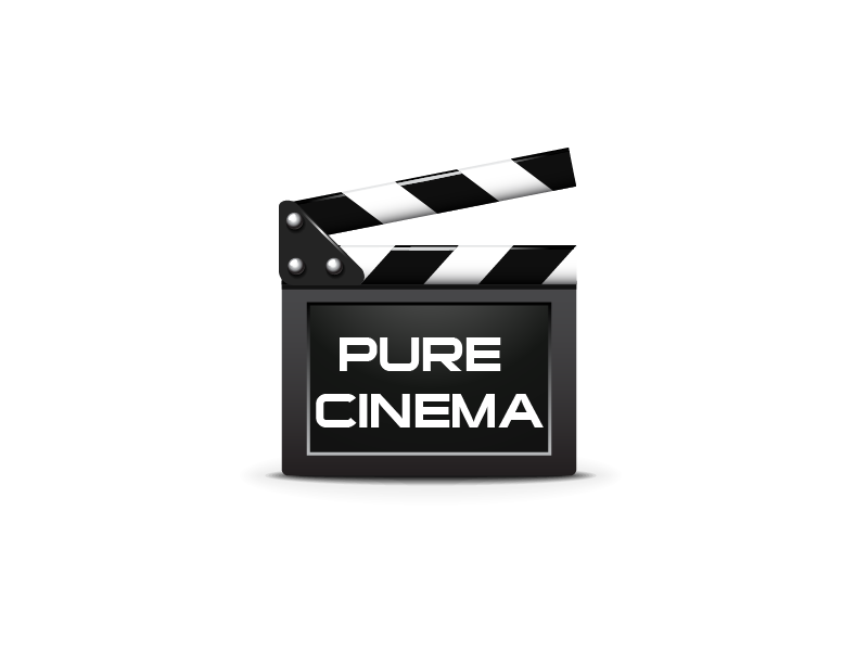 Logo Design by Private User - Entry No. 68 in the Logo Design Contest Imaginative Logo Design for Pure Cinema.