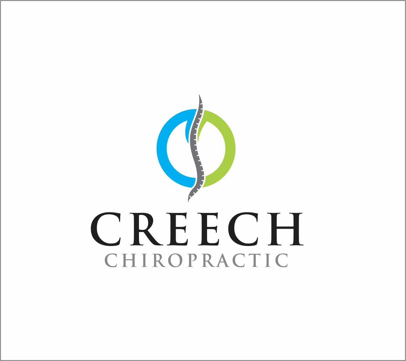 Logo Design by Armada Jamaluddin - Entry No. 59 in the Logo Design Contest Imaginative Logo Design for Creech Chiropractic.
