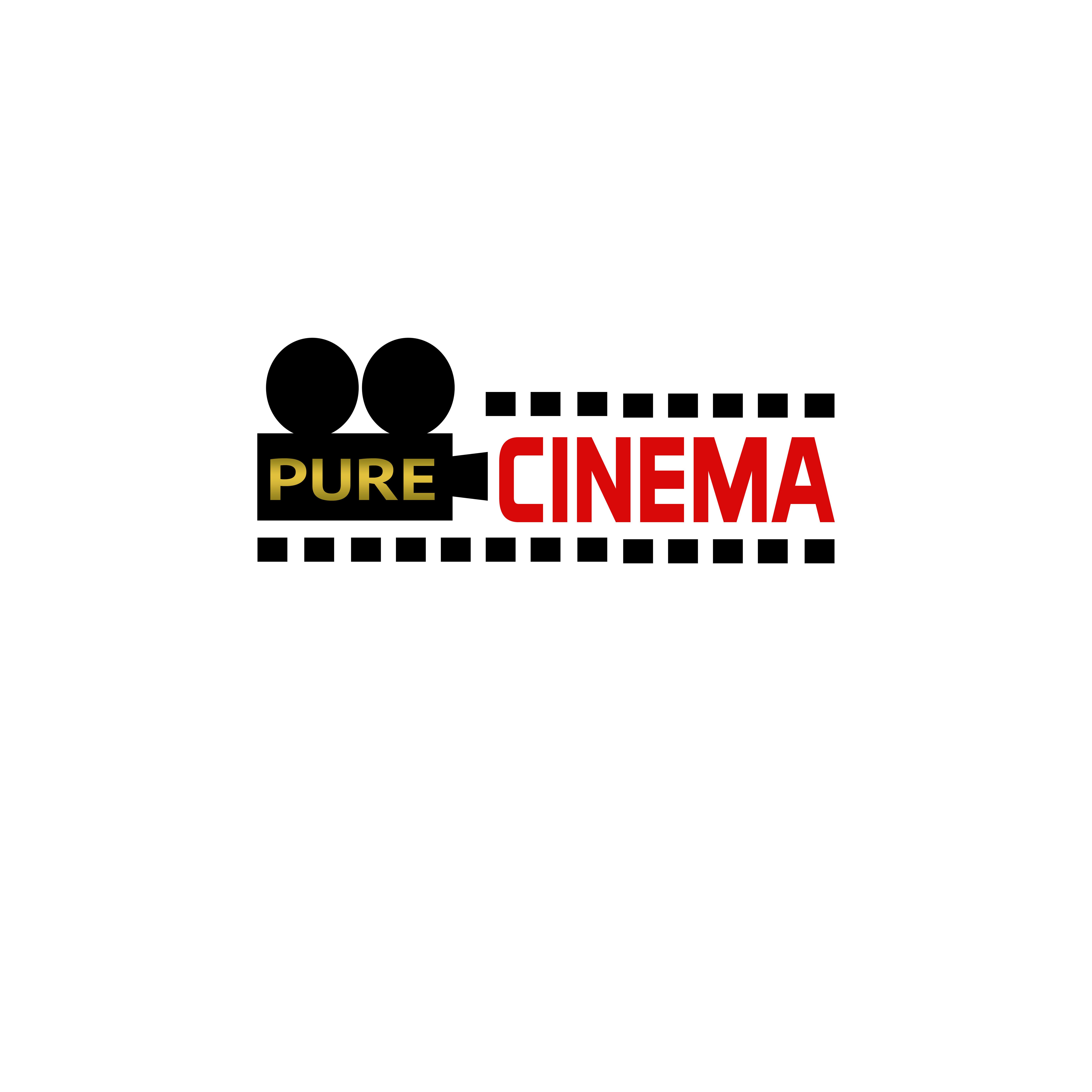 Logo Design by Allan Esclamado - Entry No. 76 in the Logo Design Contest Imaginative Logo Design for Pure Cinema.