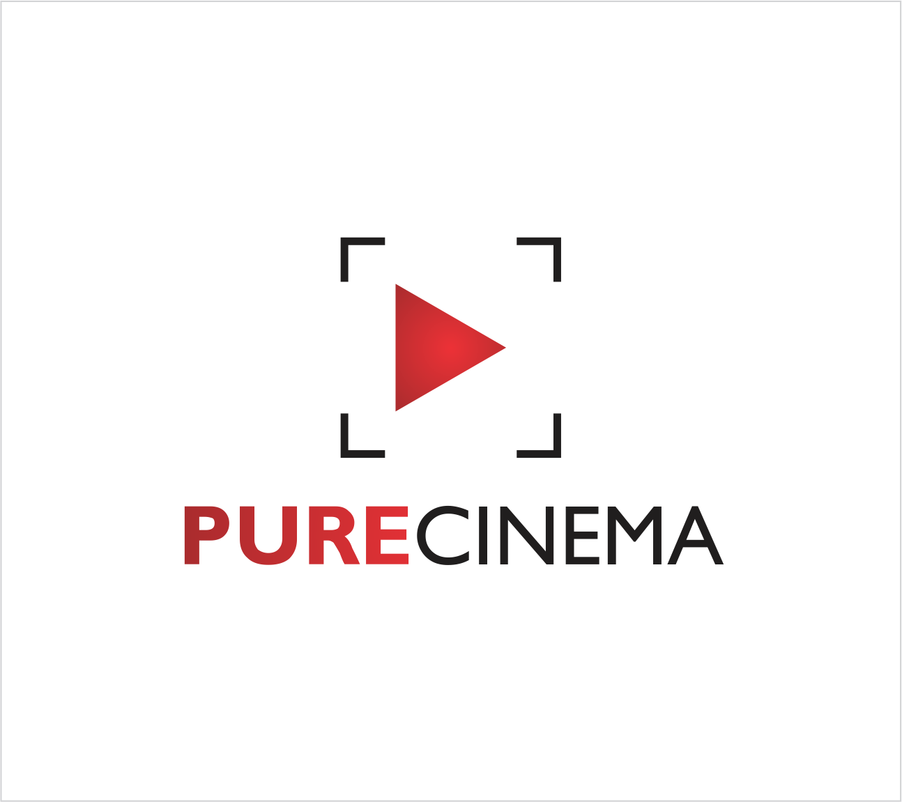 Logo Design by Armada Jamaluddin - Entry No. 77 in the Logo Design Contest Imaginative Logo Design for Pure Cinema.