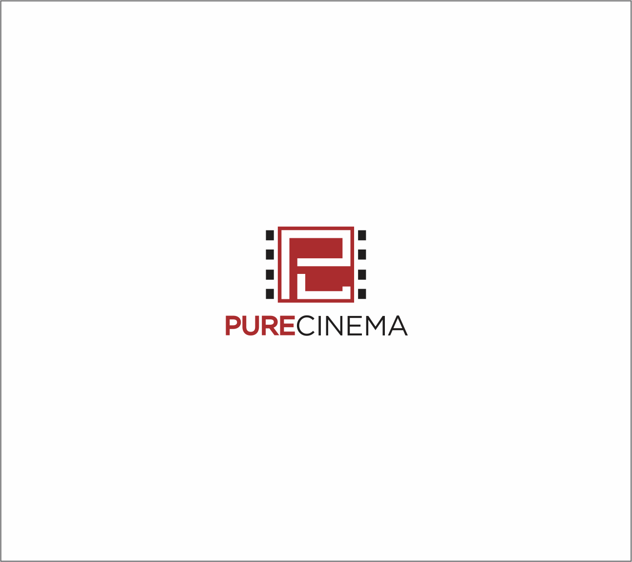Logo Design by Armada Jamaluddin - Entry No. 78 in the Logo Design Contest Imaginative Logo Design for Pure Cinema.