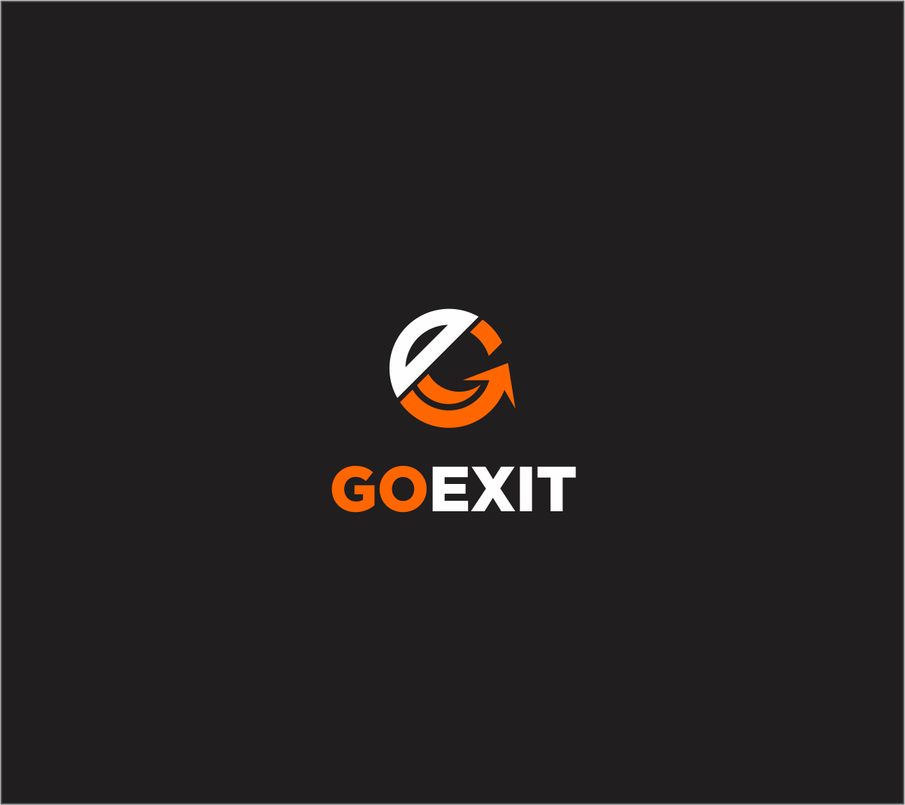 Logo Design by Armada Jamaluddin - Entry No. 116 in the Logo Design Contest GoExit Logo Design.
