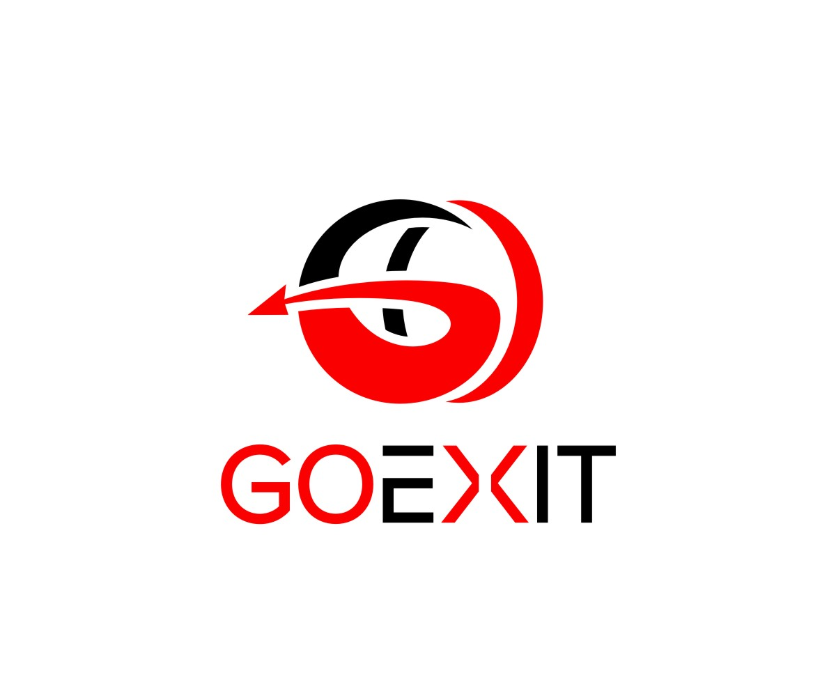 Logo Design by untung - Entry No. 119 in the Logo Design Contest GoExit Logo Design.