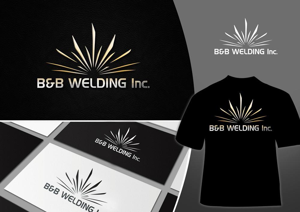 Logo Design by Fita Tiara Sani - Entry No. 23 in the Logo Design Contest Fun Logo Design for B&B Welding Inc..