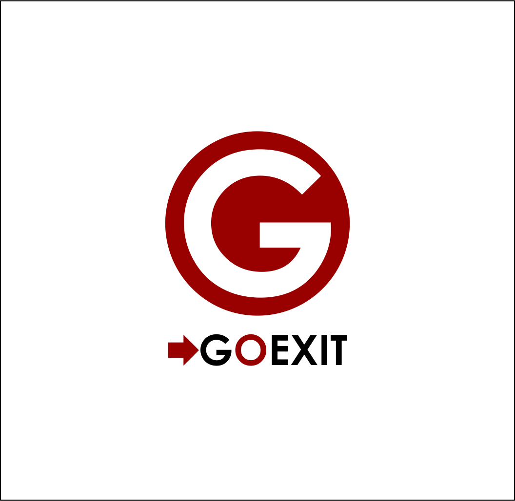 Logo Design by Agus Martoyo - Entry No. 123 in the Logo Design Contest GoExit Logo Design.