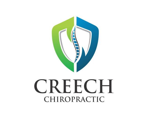 Logo Design by ronny - Entry No. 66 in the Logo Design Contest Imaginative Logo Design for Creech Chiropractic.