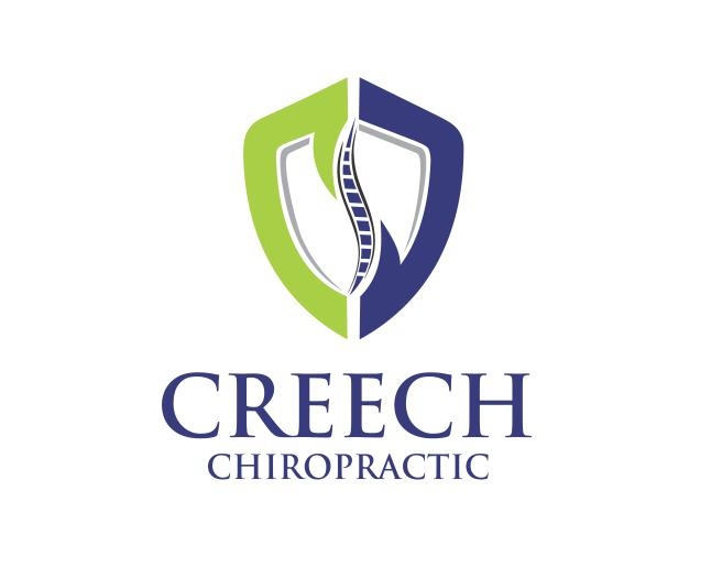 Logo Design by ronny - Entry No. 67 in the Logo Design Contest Imaginative Logo Design for Creech Chiropractic.