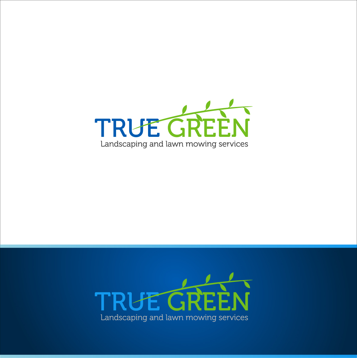 Logo Design by zoiDesign - Entry No. 31 in the Logo Design Contest Fun Logo Design for TRUE GREEN.