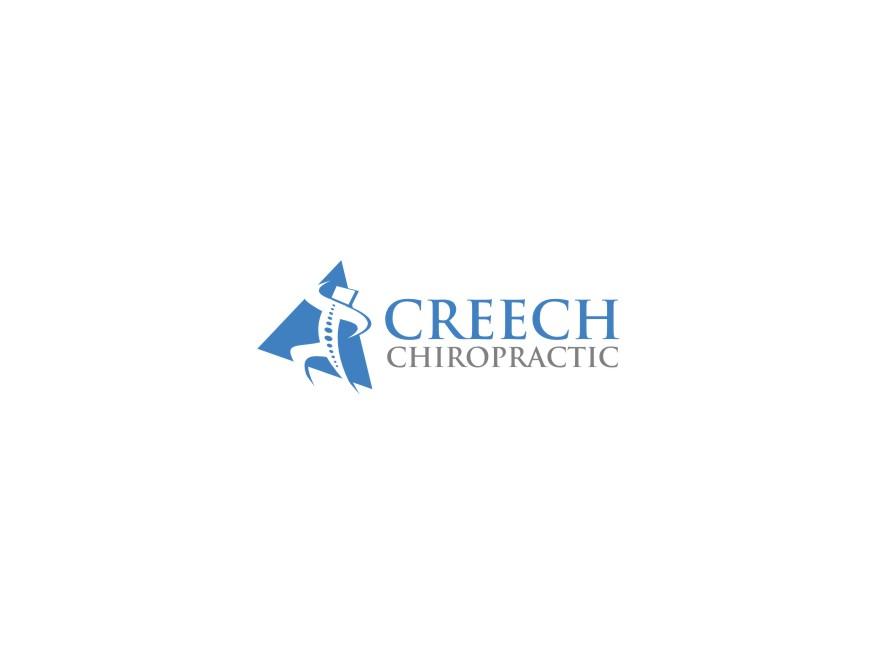 Logo Design by untung - Entry No. 71 in the Logo Design Contest Imaginative Logo Design for Creech Chiropractic.