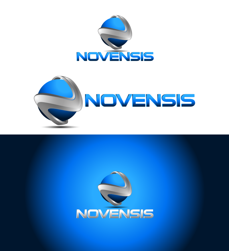 Logo Design by Private User - Entry No. 4 in the Logo Design Contest Novensis Logo Design.