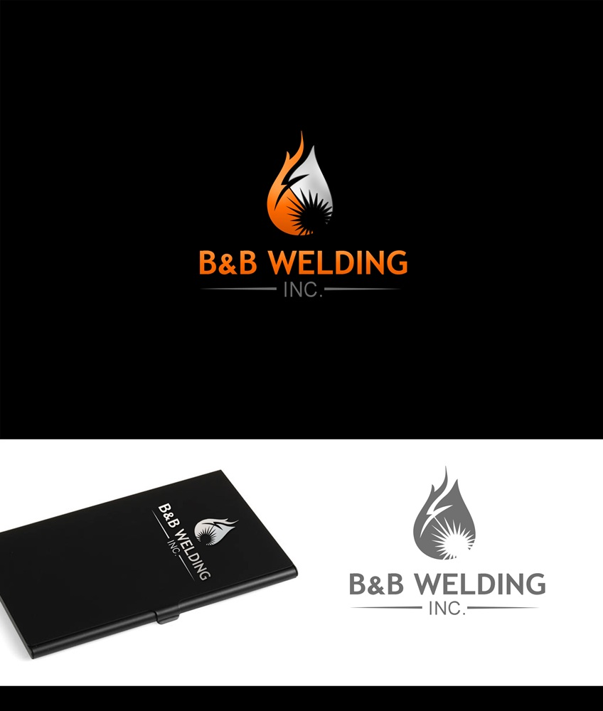 Logo Design by Fita Tiara Sani - Entry No. 24 in the Logo Design Contest Fun Logo Design for B&B Welding Inc..