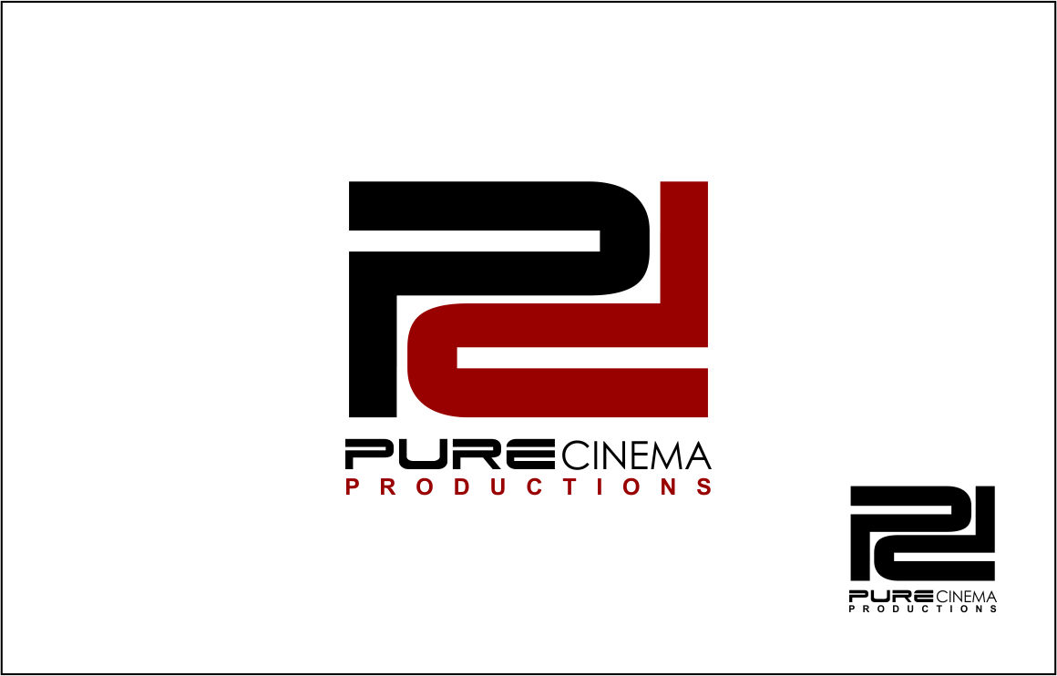 Logo Design by Agus Martoyo - Entry No. 83 in the Logo Design Contest Imaginative Logo Design for Pure Cinema.