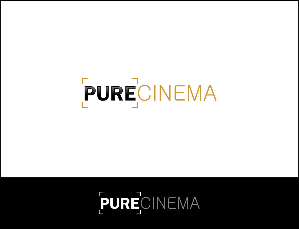Logo Design by Agus Martoyo - Entry No. 84 in the Logo Design Contest Imaginative Logo Design for Pure Cinema.