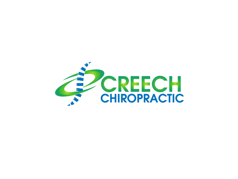 Logo Design by brands_in - Entry No. 76 in the Logo Design Contest Imaginative Logo Design for Creech Chiropractic.