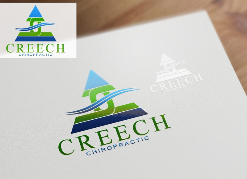Logo Design by Juan_Kata - Entry No. 78 in the Logo Design Contest Imaginative Logo Design for Creech Chiropractic.