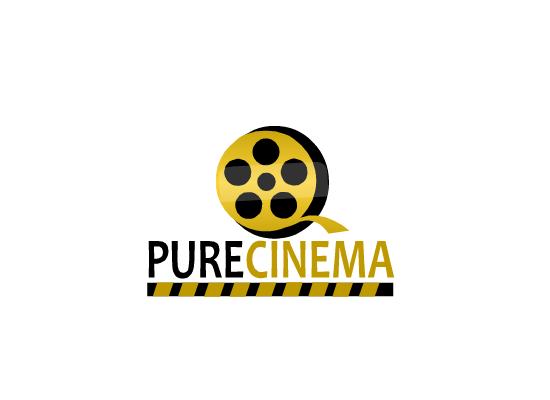 Logo Design by Sherrajoy Gonzales - Entry No. 85 in the Logo Design Contest Imaginative Logo Design for Pure Cinema.