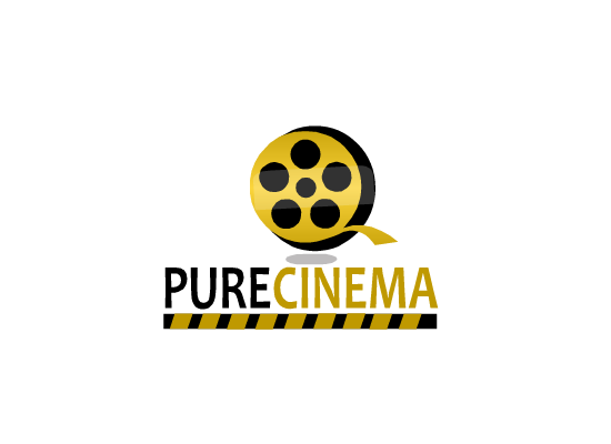 Logo Design by Sherrajoy Gonzales - Entry No. 87 in the Logo Design Contest Imaginative Logo Design for Pure Cinema.