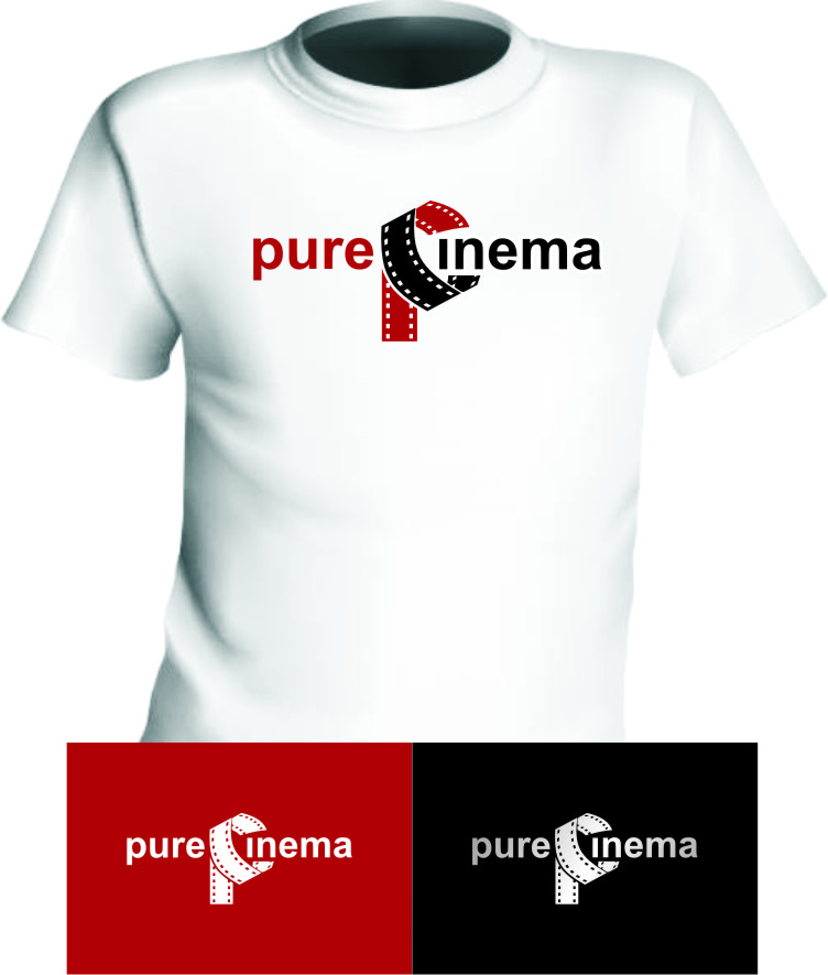 Logo Design by RasYa Muhammad Athaya - Entry No. 89 in the Logo Design Contest Imaginative Logo Design for Pure Cinema.