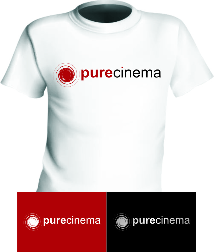 Logo Design by RasYa Muhammad Athaya - Entry No. 90 in the Logo Design Contest Imaginative Logo Design for Pure Cinema.