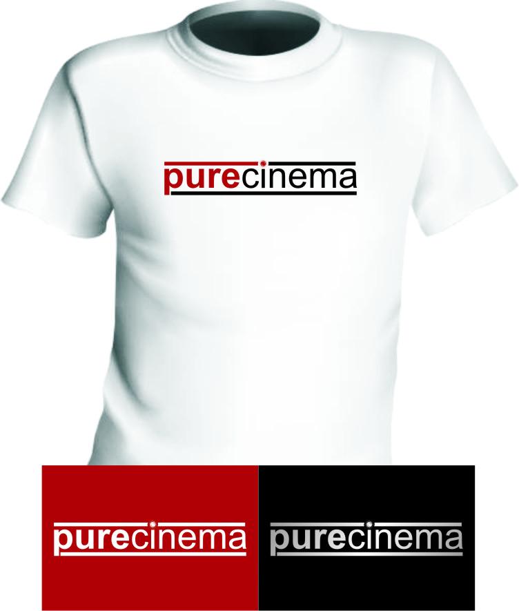 Logo Design by RasYa Muhammad Athaya - Entry No. 91 in the Logo Design Contest Imaginative Logo Design for Pure Cinema.