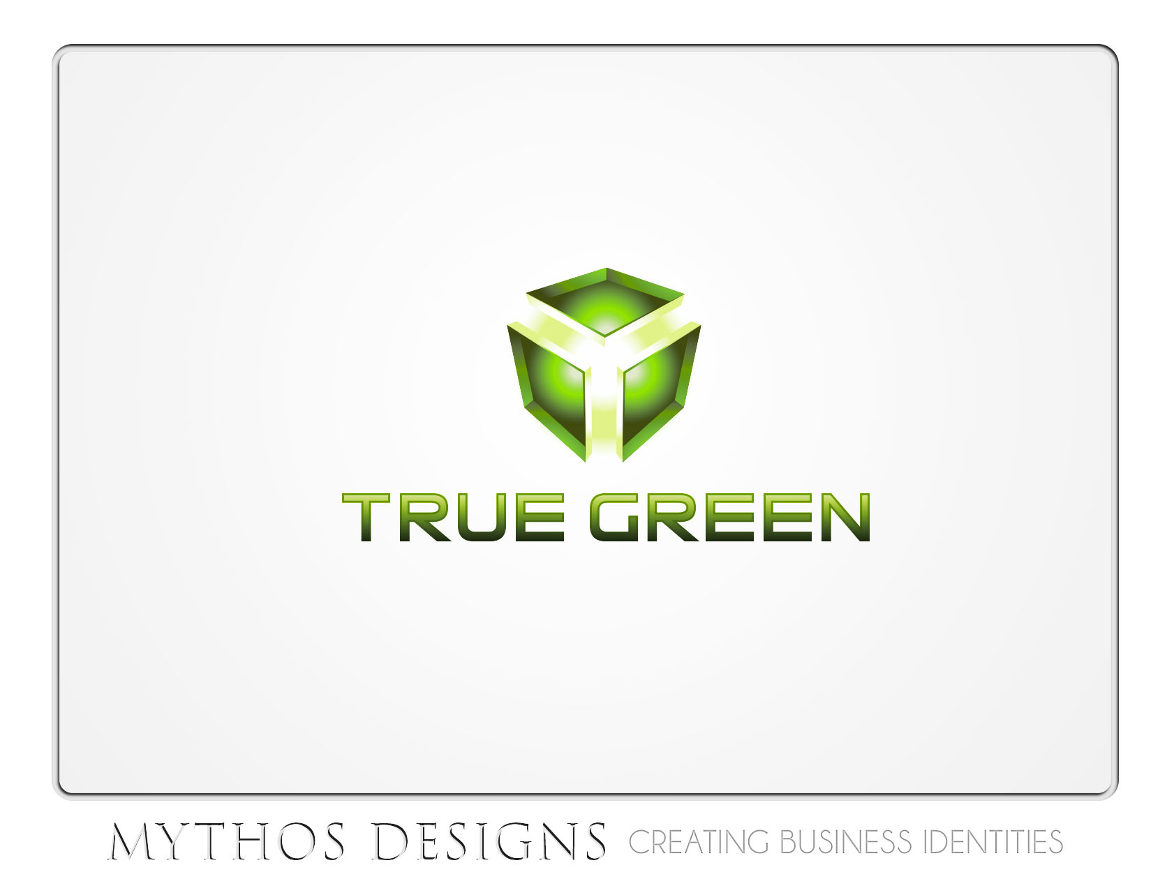 Logo Design by Mythos Designs - Entry No. 41 in the Logo Design Contest Fun Logo Design for TRUE GREEN.