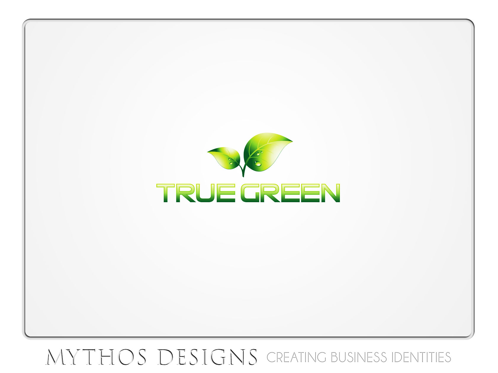 Logo Design by Mythos Designs - Entry No. 42 in the Logo Design Contest Fun Logo Design for TRUE GREEN.