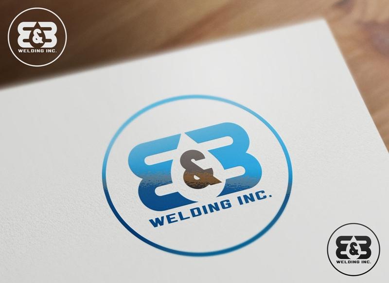 Logo Design by Juan_Kata - Entry No. 29 in the Logo Design Contest Fun Logo Design for B&B Welding Inc..